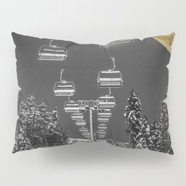 Chair Lift to the Moon Pillow Sham