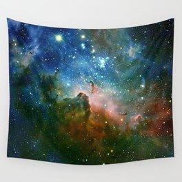 Hidden Secrets of Carina Nebula Wall Tapestry