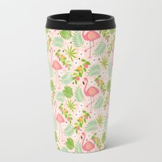 Fruity Flamingo - Pink Travel Mug