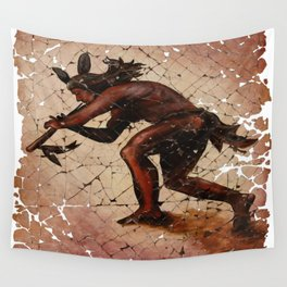 Kokopelli The Flute Player Wall Tapestry