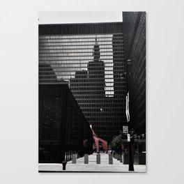 City Reflections Canvas Print