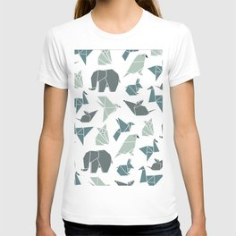 Animals pattern T-shirt