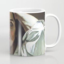 Gustave Courbet-The Desperate Man Coffee Mug