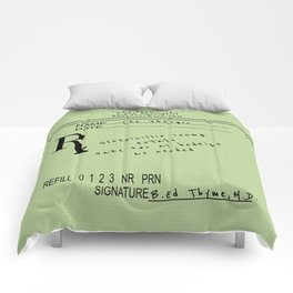 Prescription for Lee Thargic from Dr. B. Ed Thyme Comforters