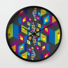 Socialization Colors Wall Clock