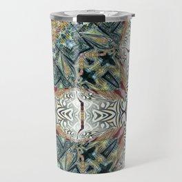 Dug Up Mandala 3 Travel Mug