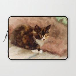Calico Kitten Laptop Sleeve