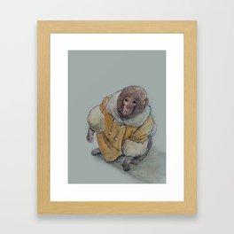 ikea monkey Framed Art Print