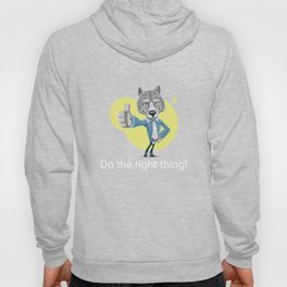 Do The Right Thing   Encouraging Words Hoody