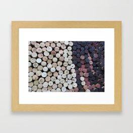 Too Many Corks Framed Art Print