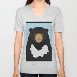 Sun bear Unisex V-Neck