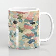 SWEPT AWAY 4 - Lovely Shabby Chic Soft Pink Ocean Waves Mermaid Splash Abstract Acrylic Painting Mug