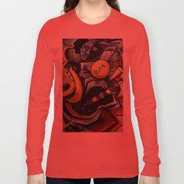 Indigo Blues Long Sleeve T-shirt