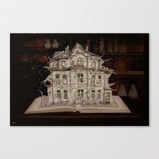 Die Geschichte der Villa... Canvas Print