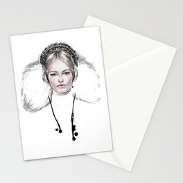 Modern Queen Stationery Cards