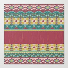 Aztec Art Canvas Print