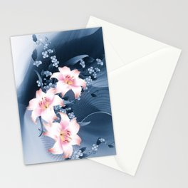 Lilien - lilies Stationery Cards