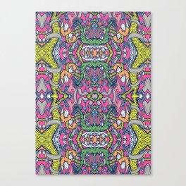 Mirrored World Canvas Print