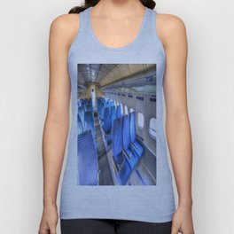 Tupolev TU-154 Russian Airliner Seating Unisex Tank Top