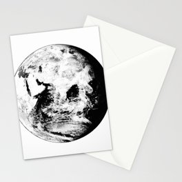 Earth Globe Stationery Cards