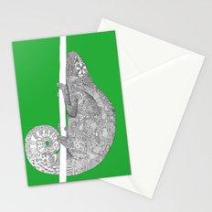Green-Chameleon Stationery Cards