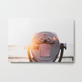 Clear Vision Metal Print