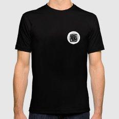 Entangled Logo Mens Fitted Tee MEDIUM Black