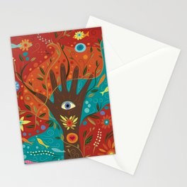 Fatima Hamsa Stationery Cards