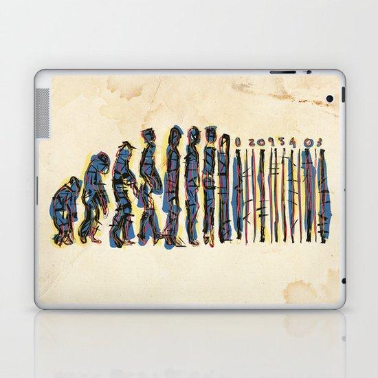 Barcode Evolution Laptop & iPad Skin