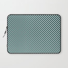 Bayberry and White Polka Dots Laptop Sleeve