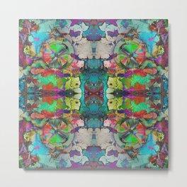 Mandala Kaleidoscope 512 Metal Print