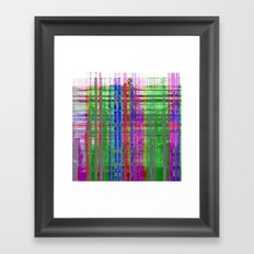 Likened to sung as opposed to overdone and excess. Framed Art Print