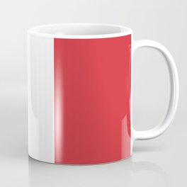 Flag of Italy - High quality authentic version Coffee Mug