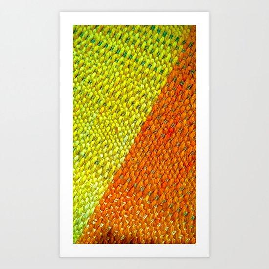 Simple Division Art Print