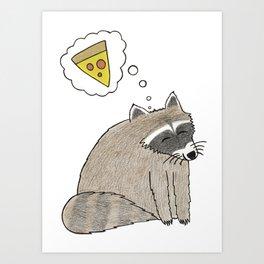 Pizza Dreams Art Print