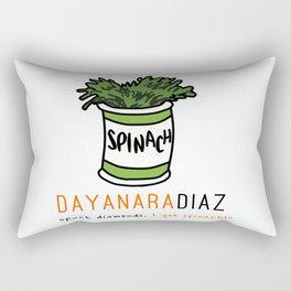 Dayanara Diaz | OITNB | Spinach Rectangular Pillow