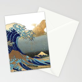 The Great Waves by Hokusai Stationery Cards