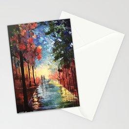 Rainy Path Stationery Cards