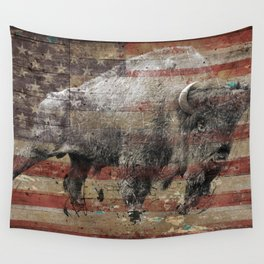 American Bison 2 Wall Tapestry