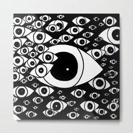 Dead Eyes Metal Print