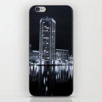 baltimore iPhone & iPod Skins featuring Baltimore Nights... by Jon Bilous