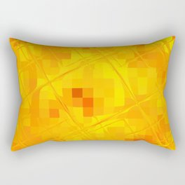 Re-Created Twisted SQ XXXV by Robert S. Lee Rectangular Pillow