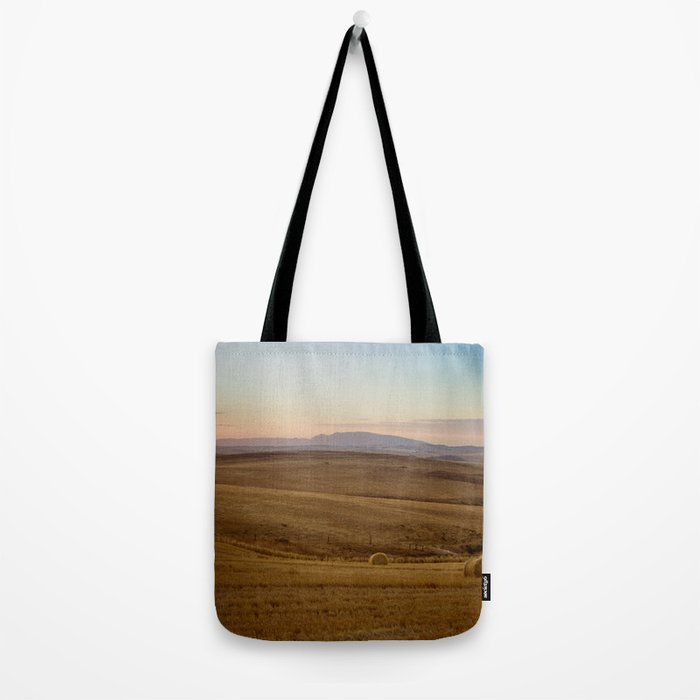 Wheat fields of the Overberg  Tote Bag