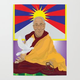 His Holiness Poster