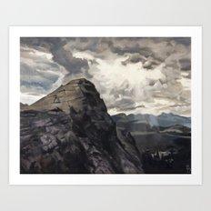 Lembert Dome, Yosemite Art Print