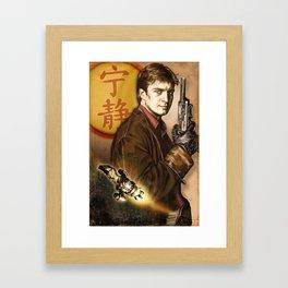 Captain Mal Reynolds Framed Art Print