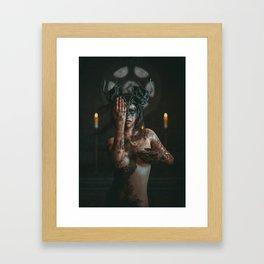 The Syren #1 Framed Art Print