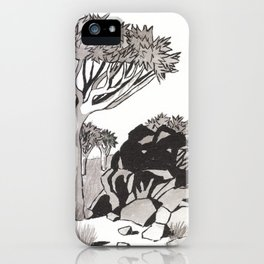 Quiver Tree & Rocks - Namibia iPhone Case