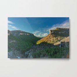Mountain Landscape in Spain Metal Print