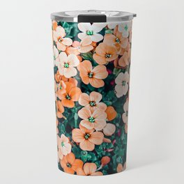 Floral Bliss #photography #nature Travel Mug